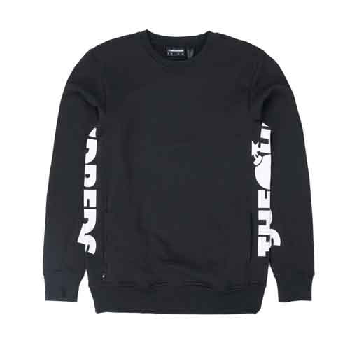 THE HUNDREDS Sidewinder Crewneck Black
