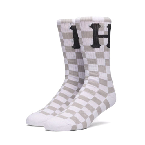 HUF BLACKOUT SOCK WHITE
