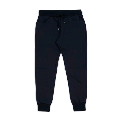 STIGMA BLANK HEAVY SWEAT JOGGER PANTS NAVY
