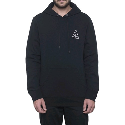 HUF MEMORIAL TRIANGLE P/O HOODIE BLACK