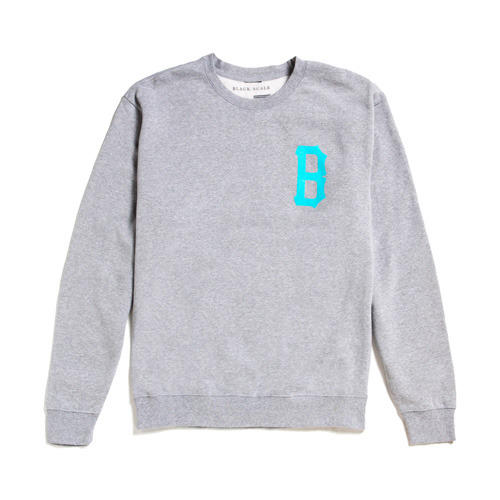[Special Project] BLACK SCALE B-Logo Crewneck QS