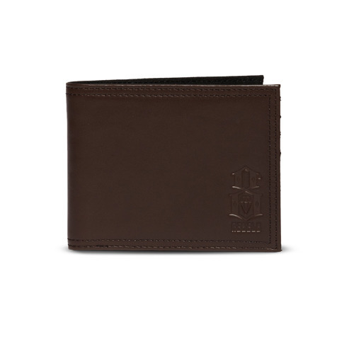 REBEL 8 STANDARD ISSUE BROWN LEATHER WALLET