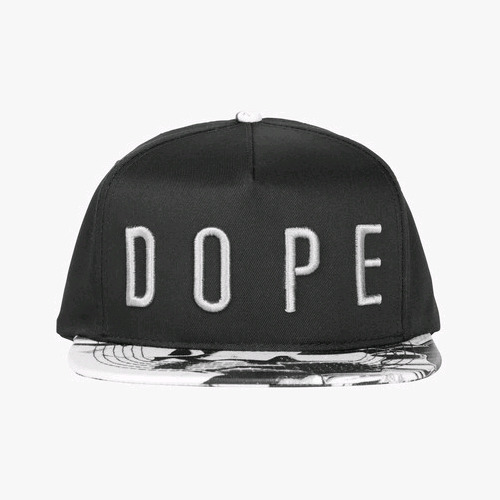 DOPE Liquid Metal Strapback (Black)