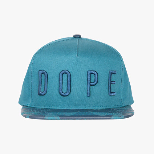 DOPE Liquid Metal Strapback (Teal)