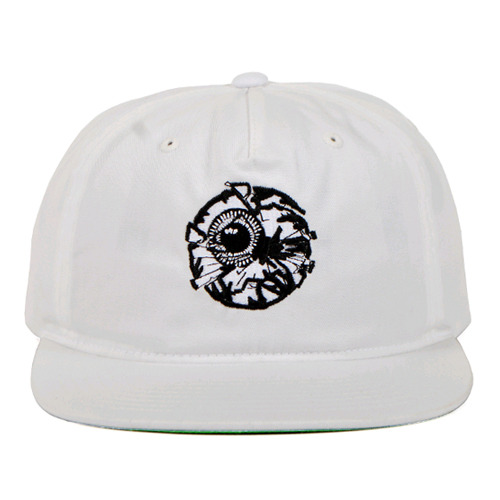 MISHKA Damaged Keep Watch Snapback (White)