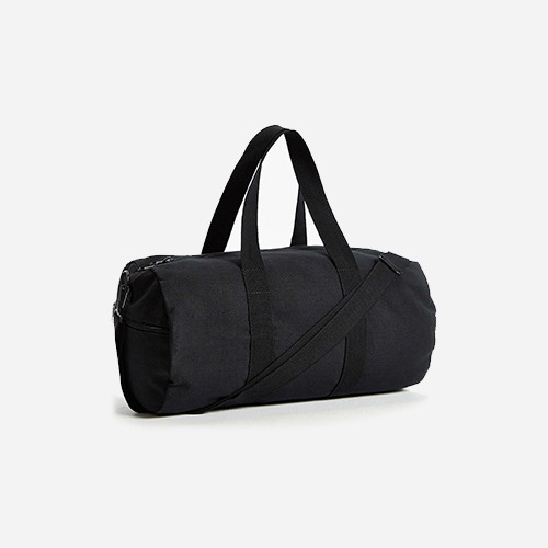 ROTHCO 19INCH CANVAS SHOULDER BAG (BLACK)