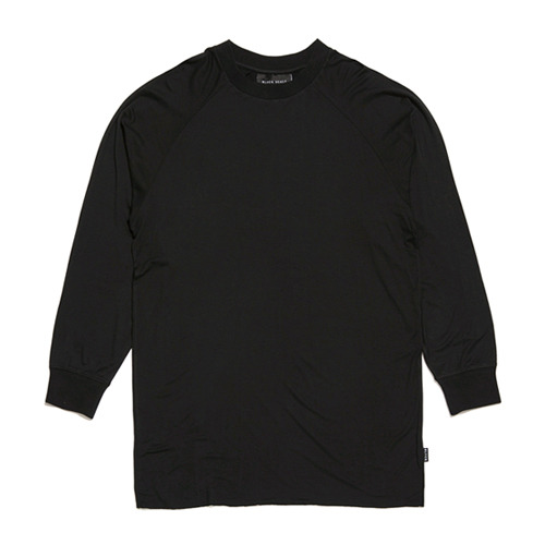 BLACK SCALE ESSENTIAL LONG SLEEVE TEE (BLACK)