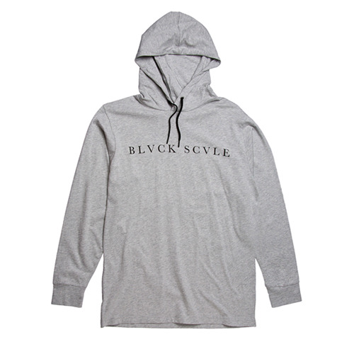 BLACK SCALE KLIMEK HOODY (GREY)