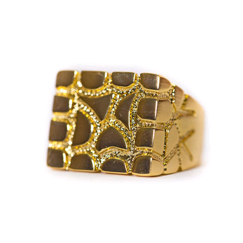 Design By TSS NUGGET RING (GOLD)