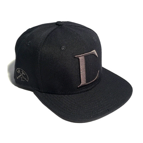 CIVIL REGIME TONAL BIG C SNAPBACK (BLACK)