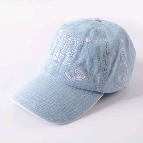 FLYING NINETY FNTY Life Snapback (DENIM)