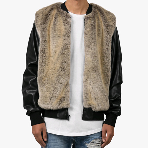 DOPE Fur Bomber (BLACK)