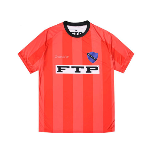 FTP CHECKERED SOCCER JERSEY(RED)
