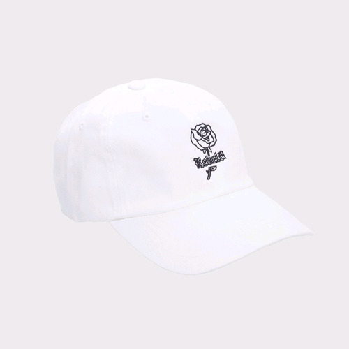 REBEL8 WOES STRAPBACK WHITE