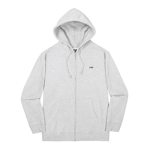 FTP TRUCKER ZIP-UP(HEATHER)