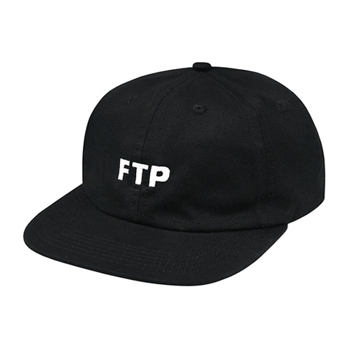 FTP LOGO HAT(BLACK)