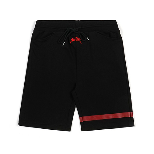 STIGMA GHOST MEDIUM SWEAT SHORT PANTS BLACK