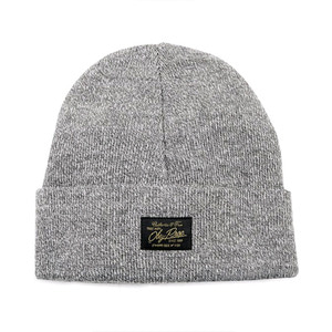 OBEY WATCHER BEANIE HEATHER GREY