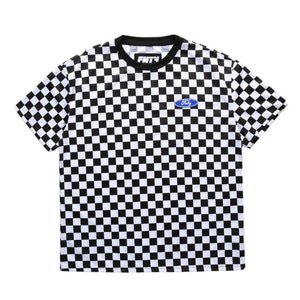 FNTY Checker T-Shirt White