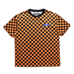 FNTY Checker T-Shirt Orange