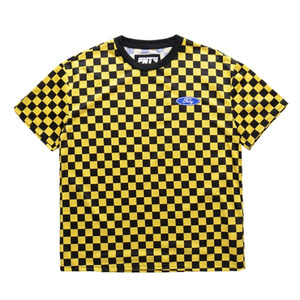 FNTY Checker T-Shirt Yellow