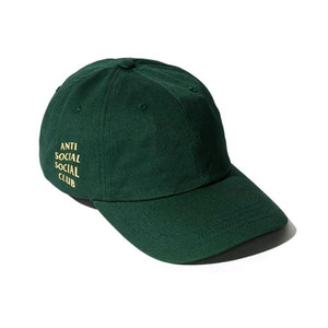 ANTI SOCIAL SOCIAL CLUB WEIRD CAP (SPRUCE)