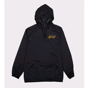 REBEL8 FLORET EMBROIDERED ANORAK JACKEY BLACK