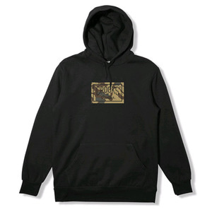 CROOKS & CASTLES Hooded Pullover - Storm Camo
