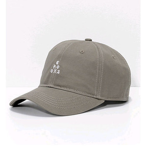 CROOKS & CASTLES Strapback Cap - Stacked Sport Rifle Green
