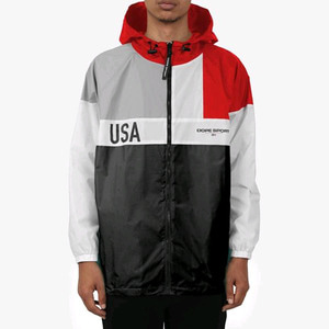 DOPE Tahoe Windbreaker Black/Red