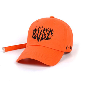 STIGMA FLAME BASEBALL CAP ORANGE