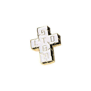 STIGMA [무료배송]CROSS BRASS BADGE
