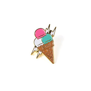 STIGMA [무료배송]ICE CREAM BRASS BADGE
