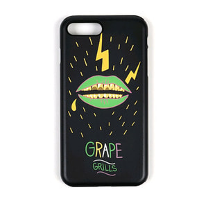 STIGMA PHONE CASE GRAPE GRILLZ BLACK iPHONE 7/7+