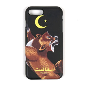 STIGMA PHONE CASE FOX BLACK iPHONE 7/7+