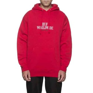 HUF SERIF STACK PULLOVER FLEECE
