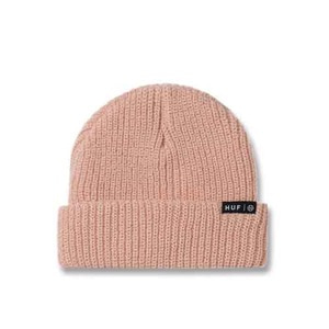 HUF USUAL BEANIE DUSTY PINK
