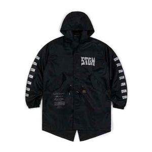 STIGMA SPARK OVERSIZED COAT BLACK