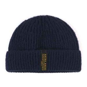 STIGMA GORGE SHORT BEANIE NAVY