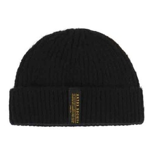 STIGMA GORGE SHORT BEANIE BLACK