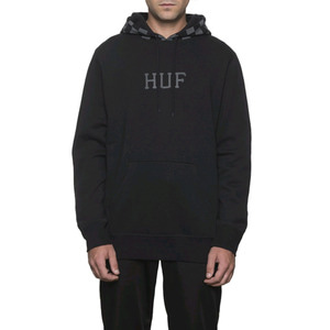 HUF BLACKOUT PULLOVER HOODIE