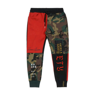 STIGMA COMBINE HEAVY SWEAT JOGGER PANTS RED