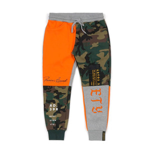 STIGMA COMBINE HEAVY SWEAT JOGGER PANTS ORANGE