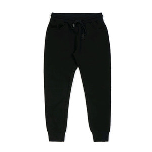 STIGMA BLANK HEAVY SWEAT JOGGER PANTS BLACK