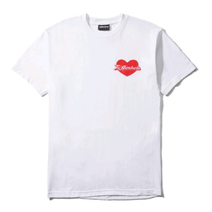 THE HUNDREDS LOVER T-SHITRT WHITE