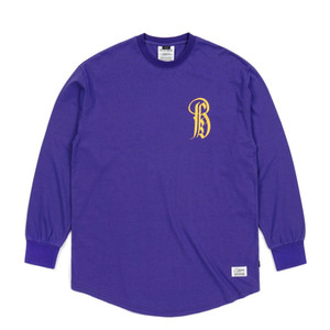 STIGMA LTD LAYERD LONG SLEEVES T-SHIRTS VIOLET