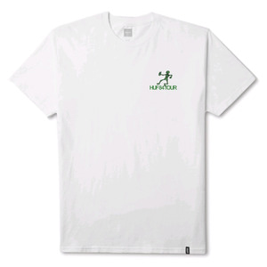 HUF OWSLEY TEE WHITE