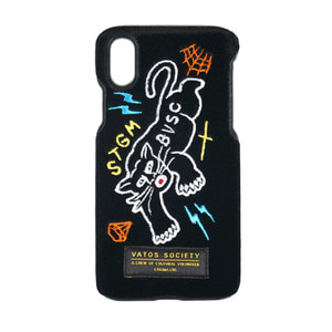 STIGMA BLACK PANTHER VELVET FABRIC CASE BLACK iPhone 8 / 8+ / X