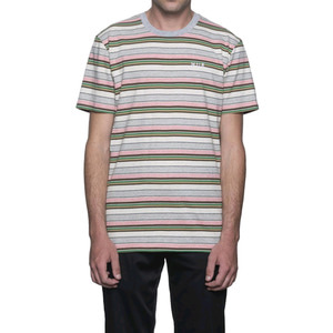 HUF OFF SHORE STRIPE TEE PINK