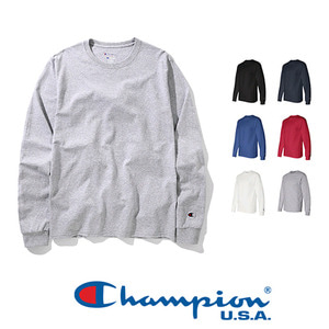 Champion USA Heavyweight L/S t-shirt6 colors